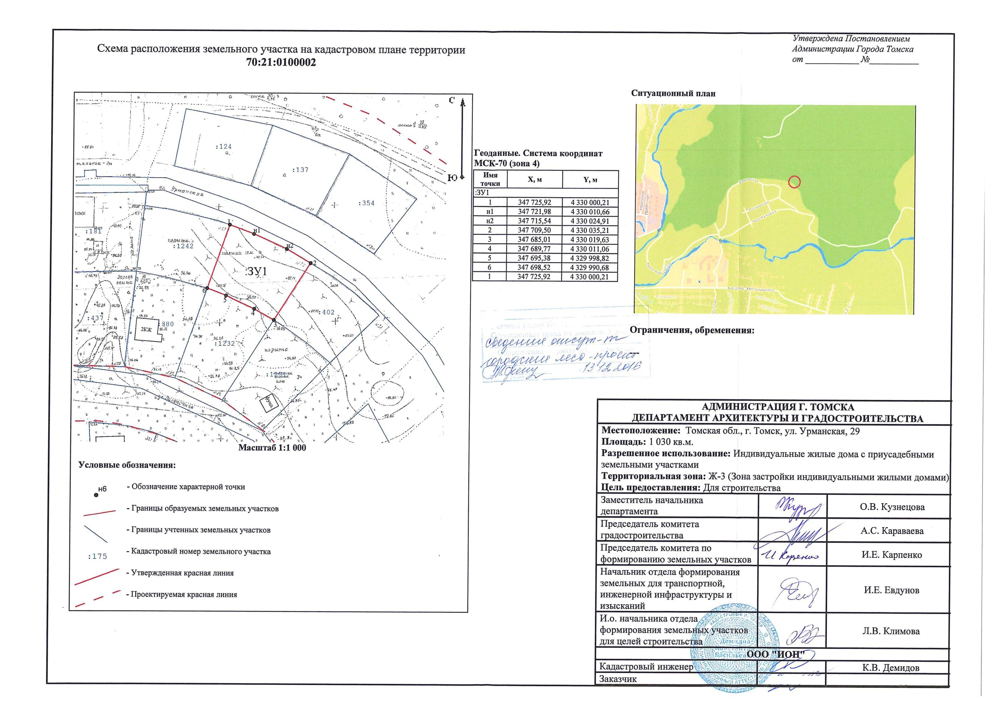 Конкурс на выделение земельного участка