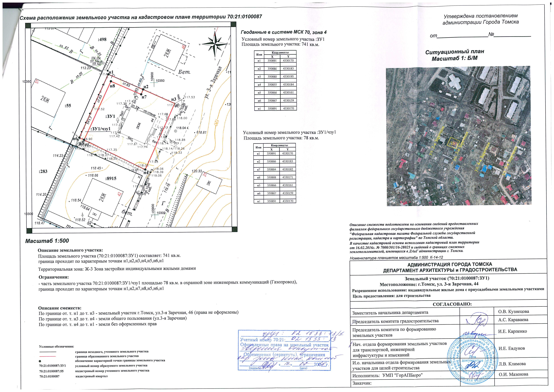 Приказ формирование схемы расположения земельного участка