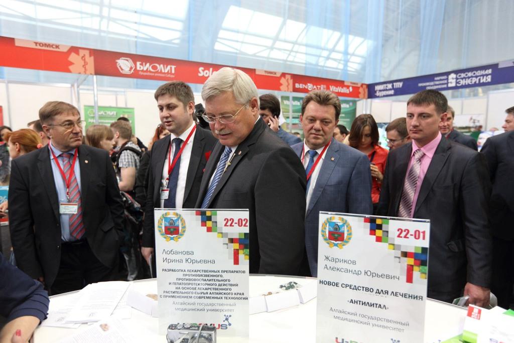 Мэр Томска Иван Кляйн принял участие в работе молодежного форума U-NOVUS-2015