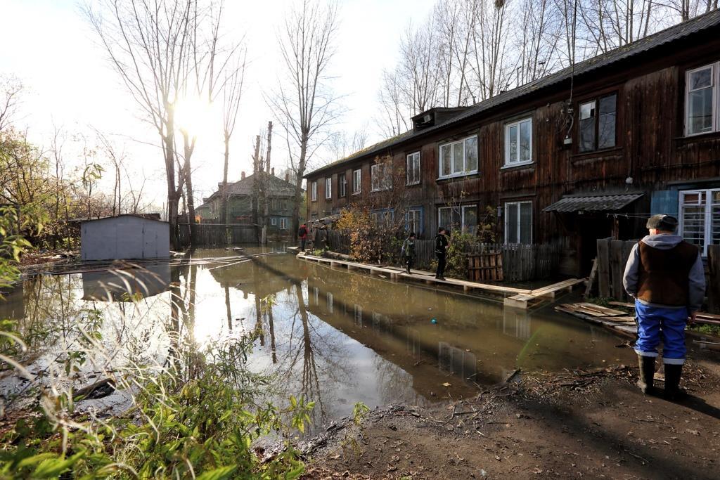 Собственникам квартир, пострадавших от подтопления, по поручению мэра Ивана Кляйна будет оказана необходимая помощь