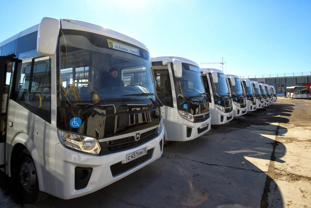 20% томских автобусов оборудованы для перевозки маломобильных горожан