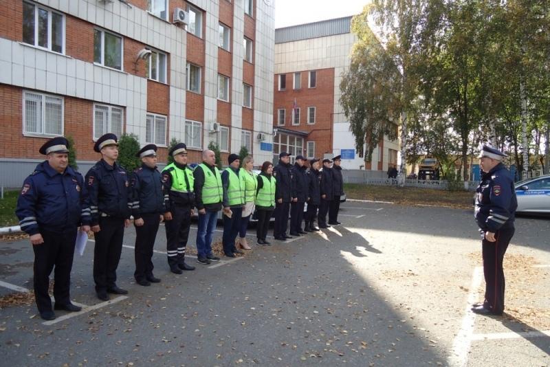 Народные дружинники Томска провели рейд по местам концентрации ДТП с несовершеннолетними