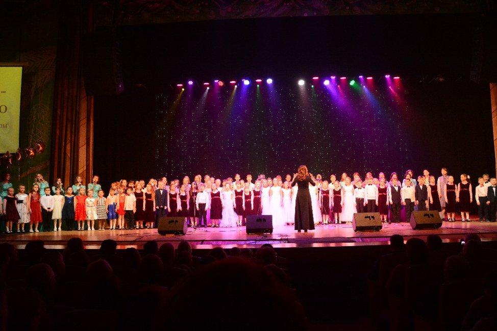 11 января 2020 года на сцене Большого концертного зала Томской областной государственной филармонии состоялся праздничный концерт «Воплощая мечты».